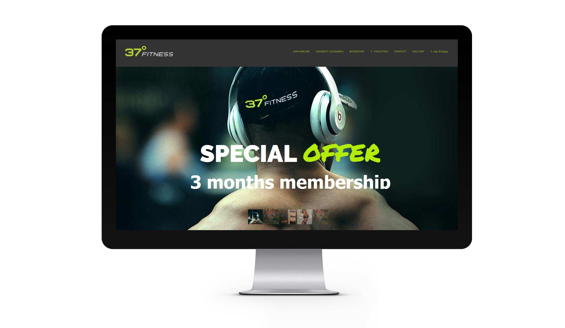 Fitness Gym Website 1