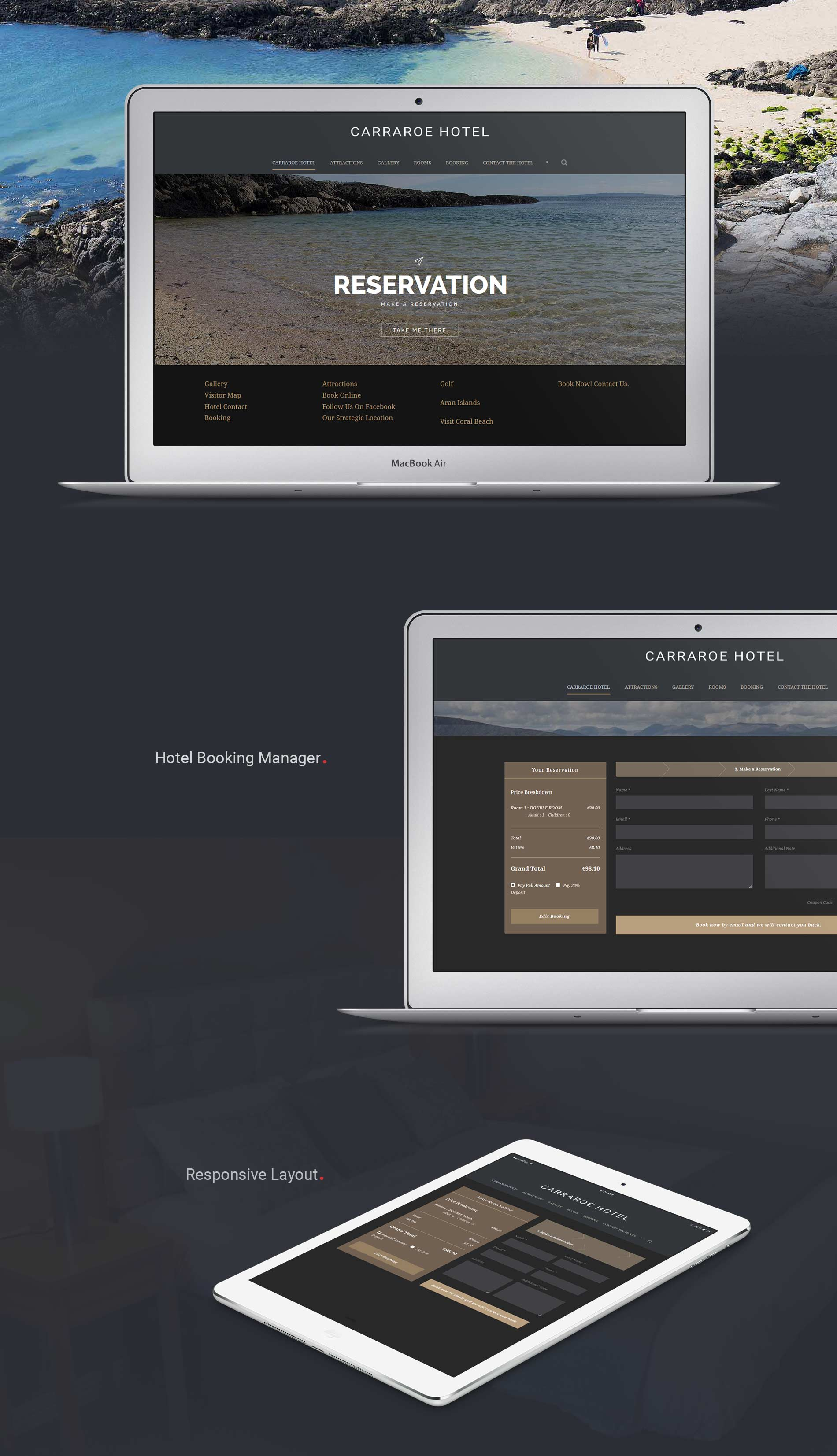Hotel Website Design Presentation