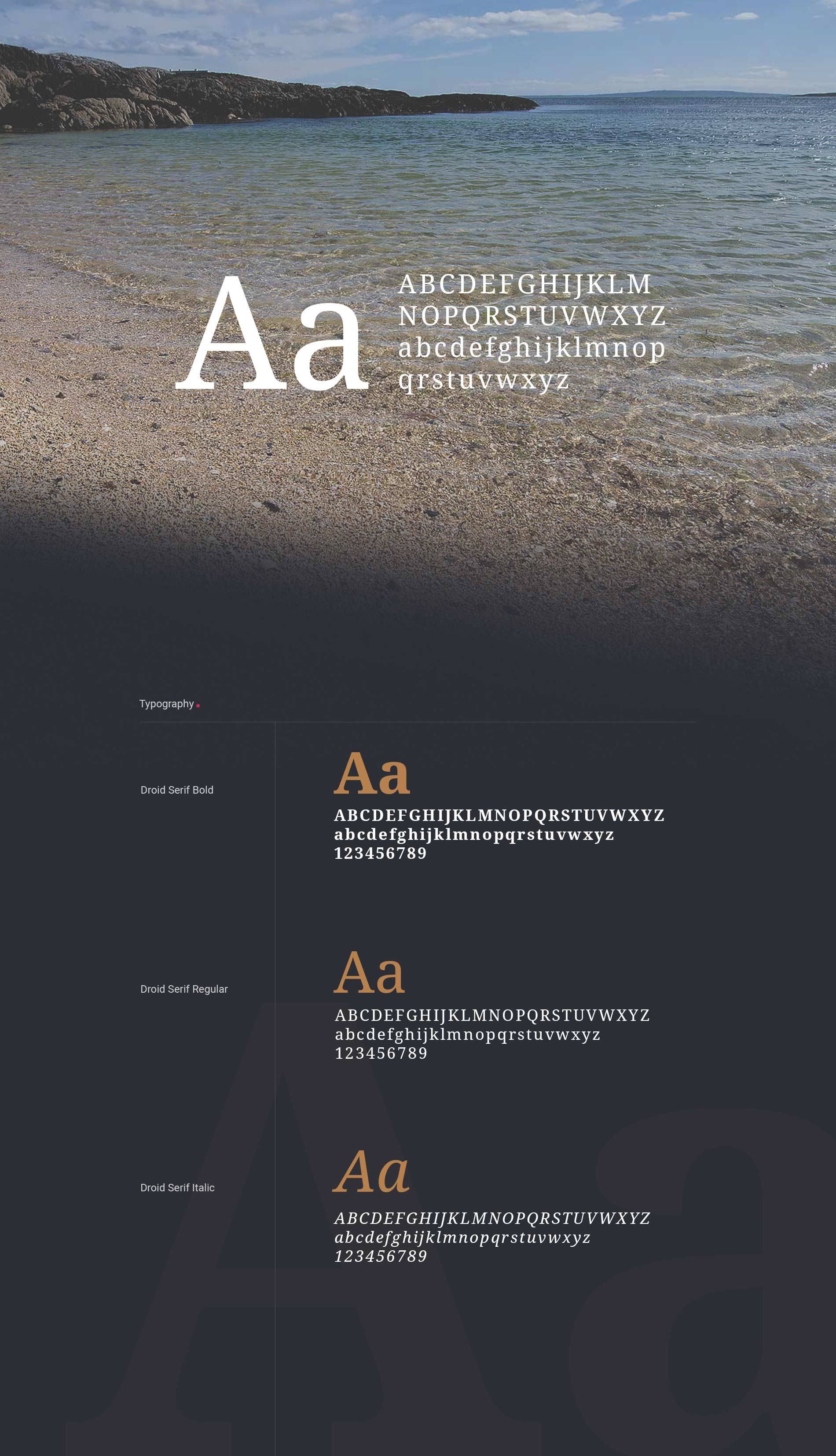 typeface-carraroe