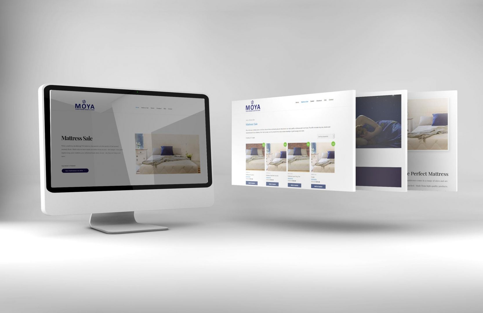 mattress company website