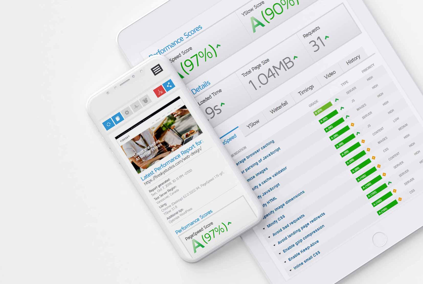 Website Speed Optimisation Services