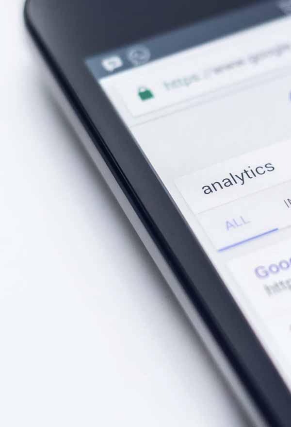 Analytics ( mobile screen )