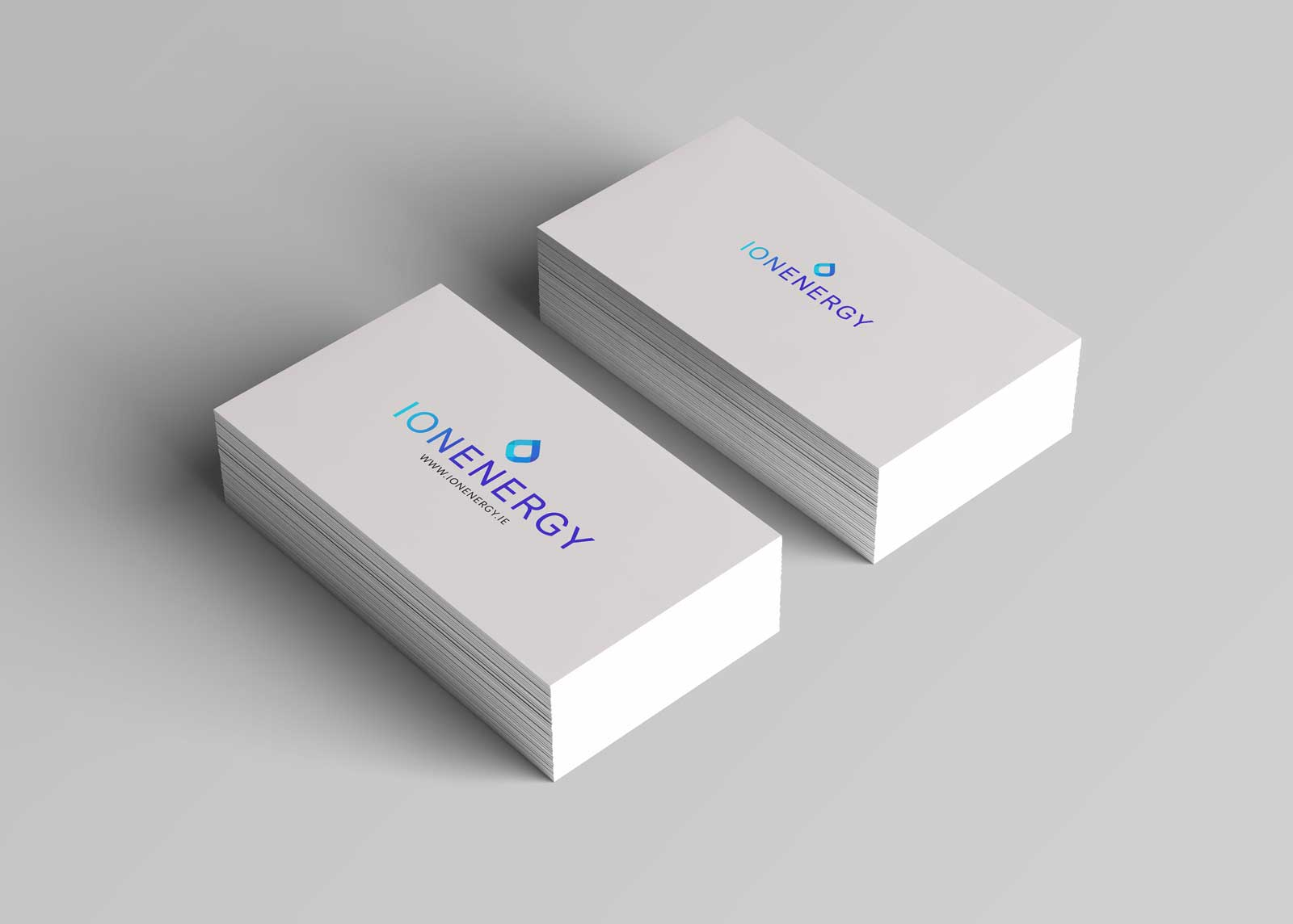 Card design with branding