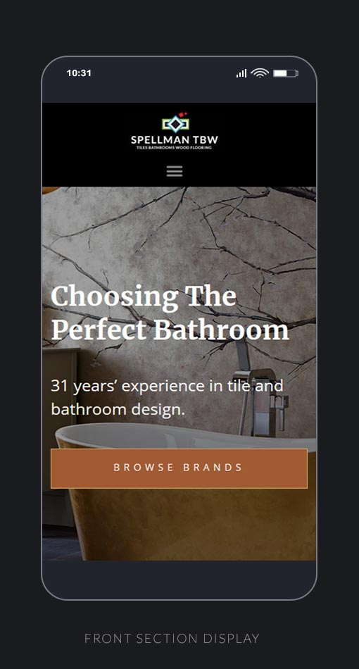 Front Page UI