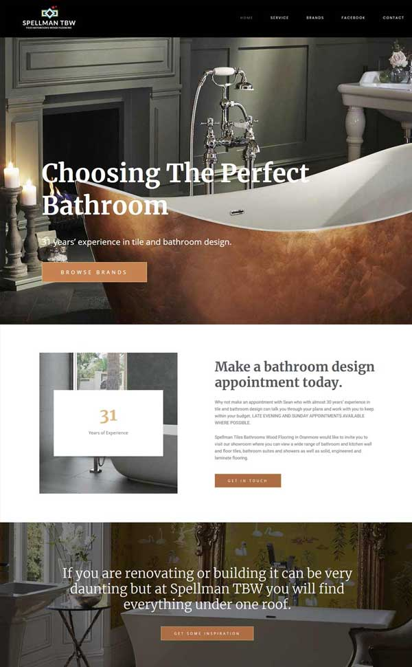 Business Page Design