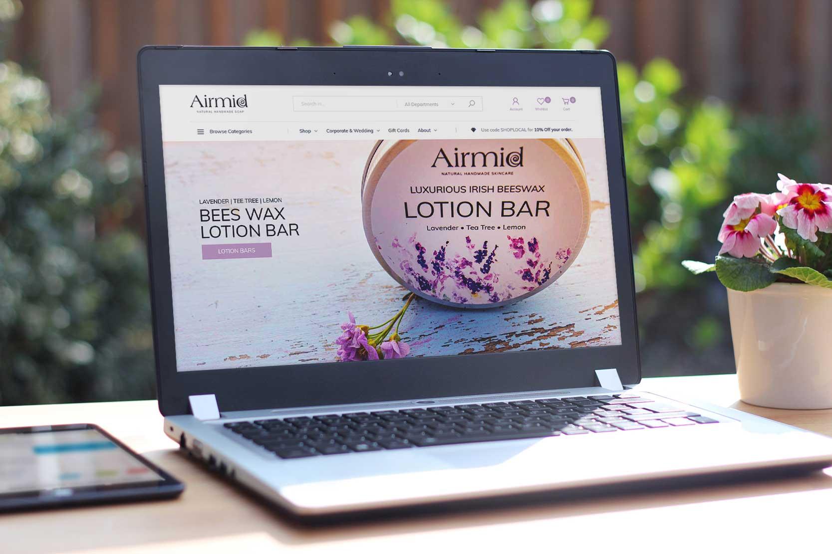 Website Upgrade For A Handmade Soap Company