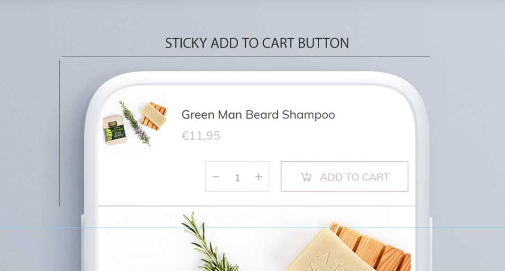 Sticky Add To Cart Feature