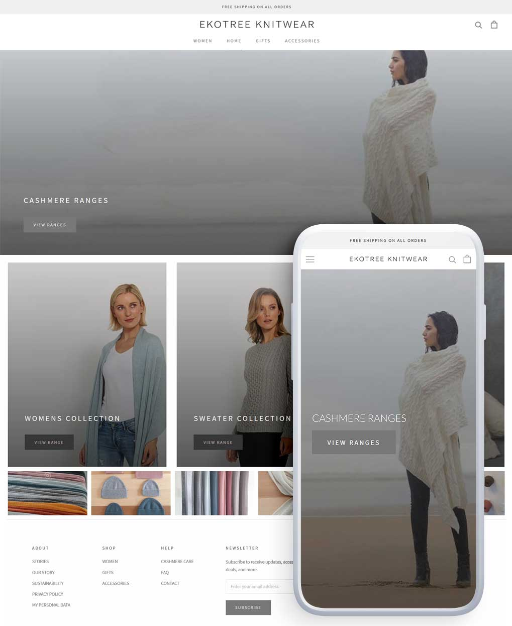 Custom Shopify Design 1