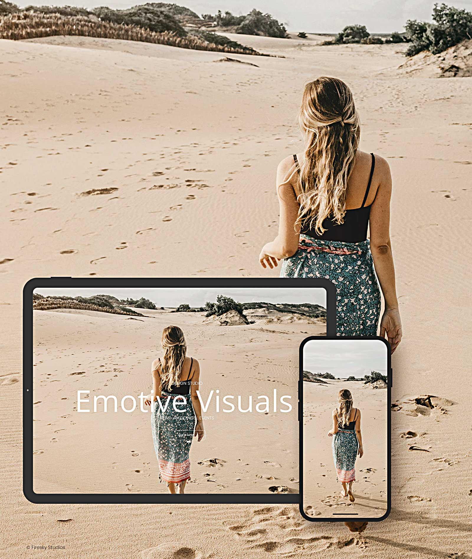 Using Emotive Visuals