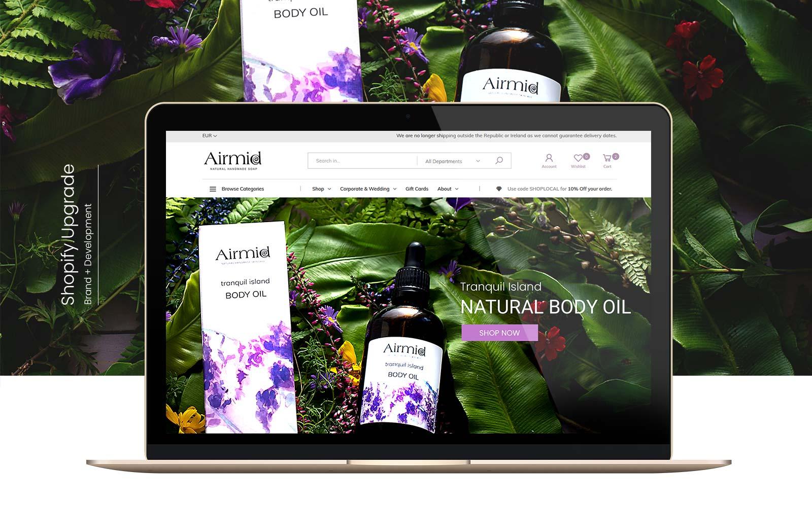 Ecommerce Website Design & Branding Presentation