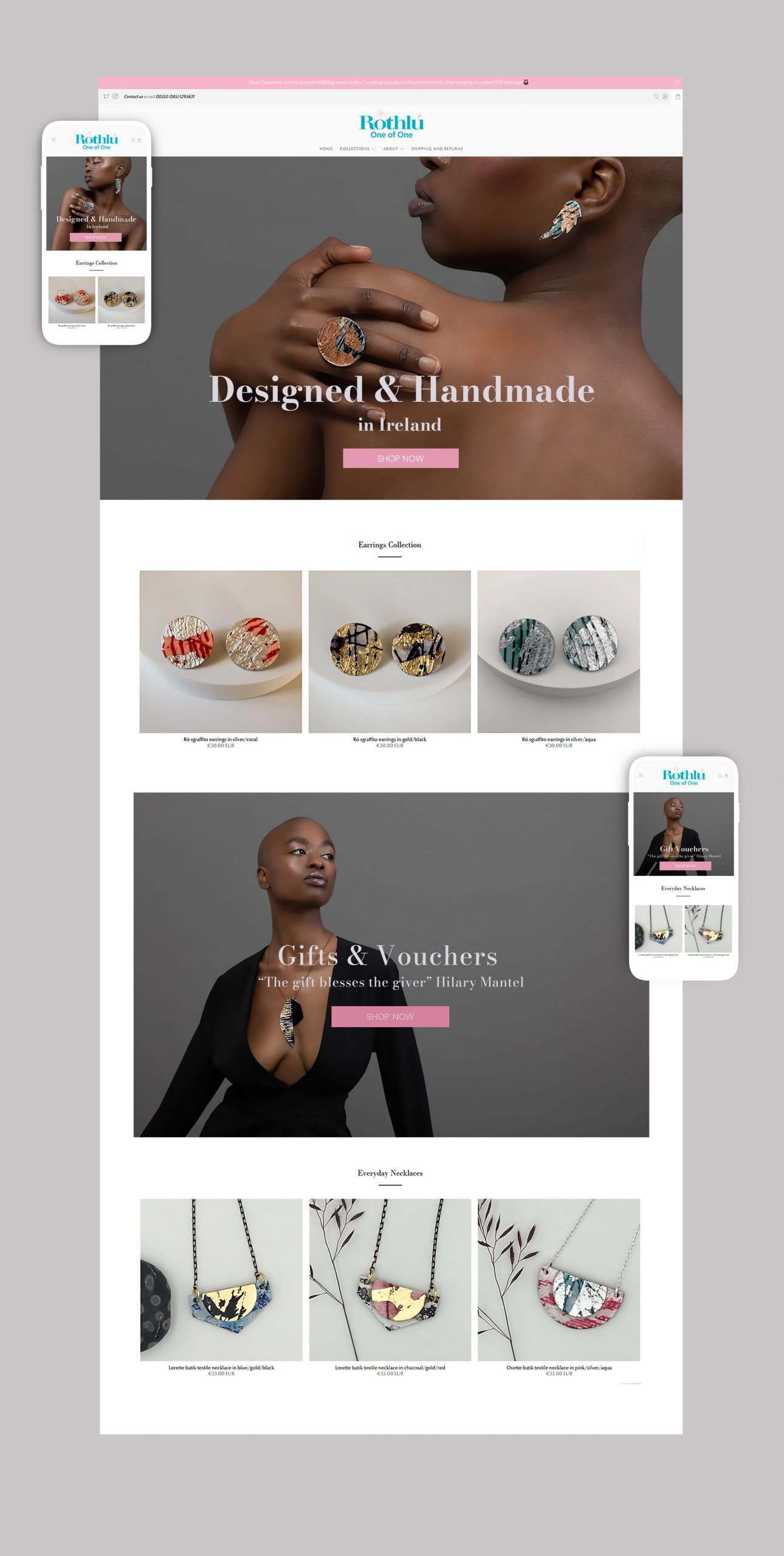 Ecommerce Jewellery Store Design 1